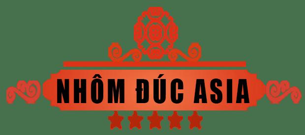 logo nhôm đúc asia